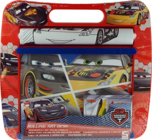 Disney Cars Rolling Arte Escritorio Colorear Juguete