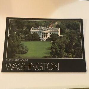 Older-Postcard-The-White-House-Washington
