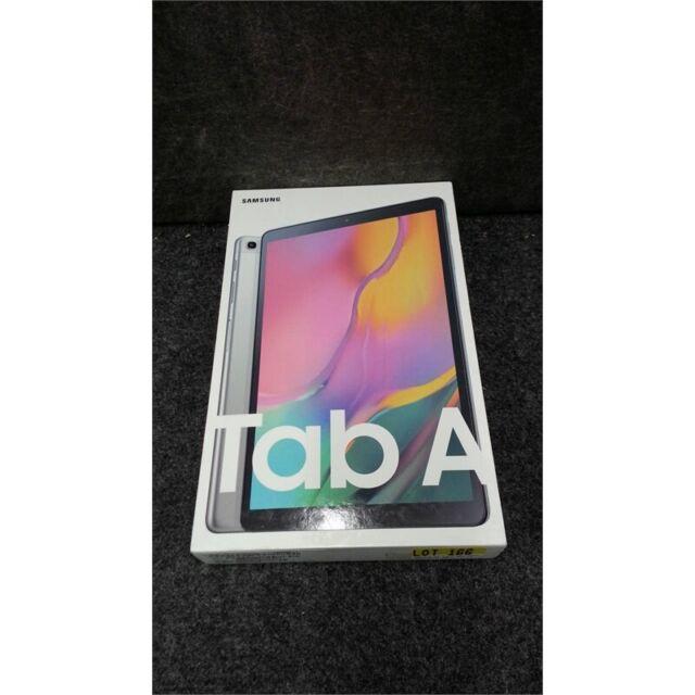 """SAMSUNG SM-T510 Galaxy Tab A Tablet 10.1"""" 32GB 2GB Wi-Fi Silver Worn Box"""