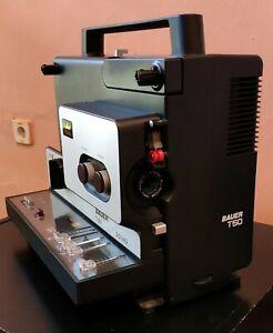 Vintage-1974-BAUER-T50-Dual-Super-8-8mm-Variable-Speed-Cine-Tape-Film-Projector