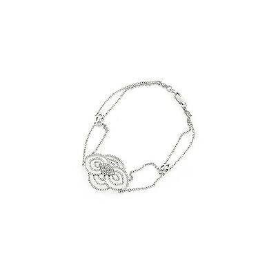 Armband Diamanten Antikstil 0,40 Karat weiße Wesselton Brillanten Neu