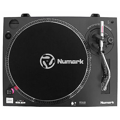 Numark TT250USB Pro Direct Drive DJ Scratching Turntable with USB and Recording