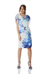 Roman-Originals-Chiffon-Overlay-Scuba-Dress