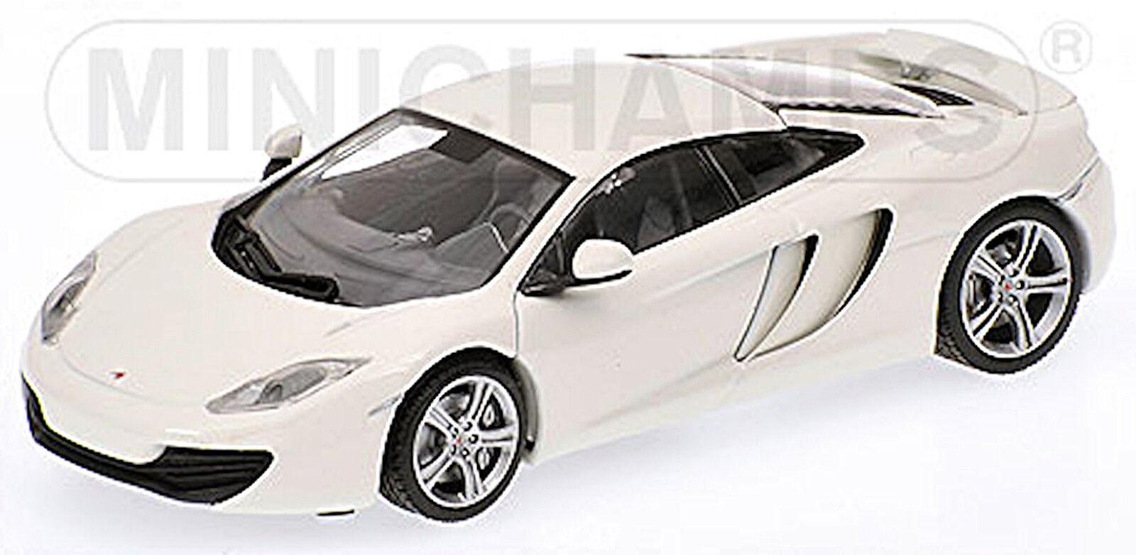 McLaren mp4-12c Coupe 2011 Pearl blanc Blanc lim.ed.1, 296 PC. 1 43 Minichamps