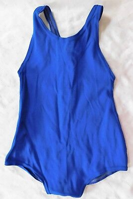 "Meridian Girls Blue Swimming Costume Vintage 1960s School Uniform Sports Kit 28"" Sconti"