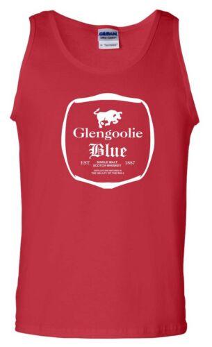 Glengoolie Blue Scotch Vest Sterling Archer Wine FX TV Series Funny Men Tank Top