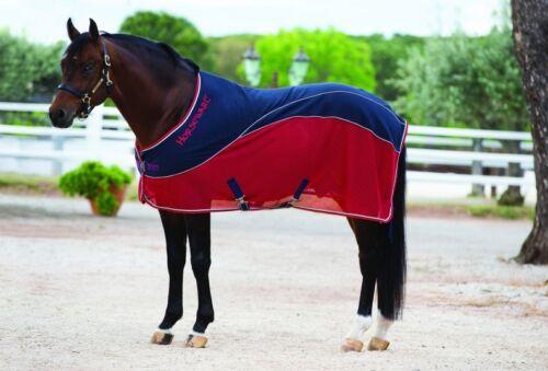 "Horseware Rambo Sport Cooler Mesh Wicking Sueur Tapis Bleu Marine//Noir//Bleu 5/' 6/"" 7/' 3/"""