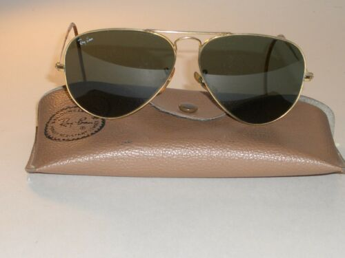 1980's VINTAGE BAUSCH & LOMB RAY BAN G15 GP UV WRA