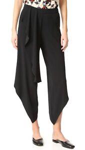 Leg Wide 10 Hippie Hh Haute Størrelse Ruffle Drapey Pants AtwIq
