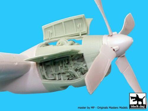 Black Dog 1//72 AC-130H Spectre Allison T56 Aircr A72027 1 pc Italeri Engine