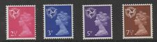 1971. Isle of Man Decimal Machin set x 4. Fine unmounted mint.