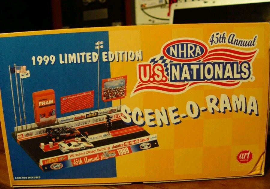 RARE   NHRA US NATIONALS DIORAMA 1 64 Mac Mac Mac Tools almost gone. Only 1,300 made 2d9938