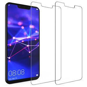 Pack-2-Huawei-Mate-20-Lite-Protections-D-039-ecran-meilleur-verre-trempe-mince-Protection