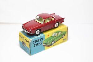 Corgi-222-Renault-Floride-En-Su-Caja-Original-Excelente-Vintage-Original-1960s