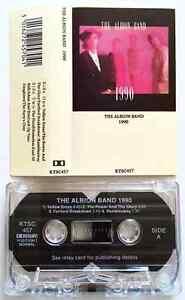 THE-ALBION-BAND-1990-Cassette-Album-EX-EX