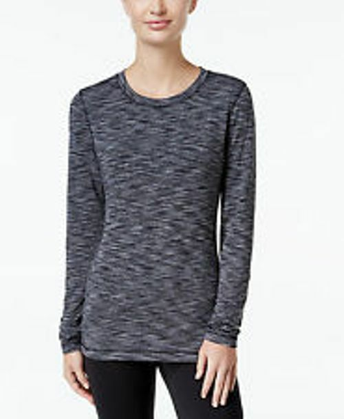 Ideology ID Warm Long Sleeve Top M L Level 2 Brushed Fleece Base Layer Womens