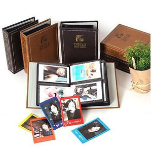Vintage Brown Photo Album For Fujifilm Instax Mini 50s 7 8s Neo 90