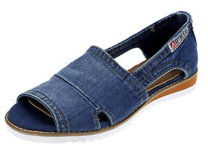 Artiker-Ladies-Slippers-Ankle-Strap-Sandal-Ladies-039-Shoes-Flat-290-Jeans-37-39