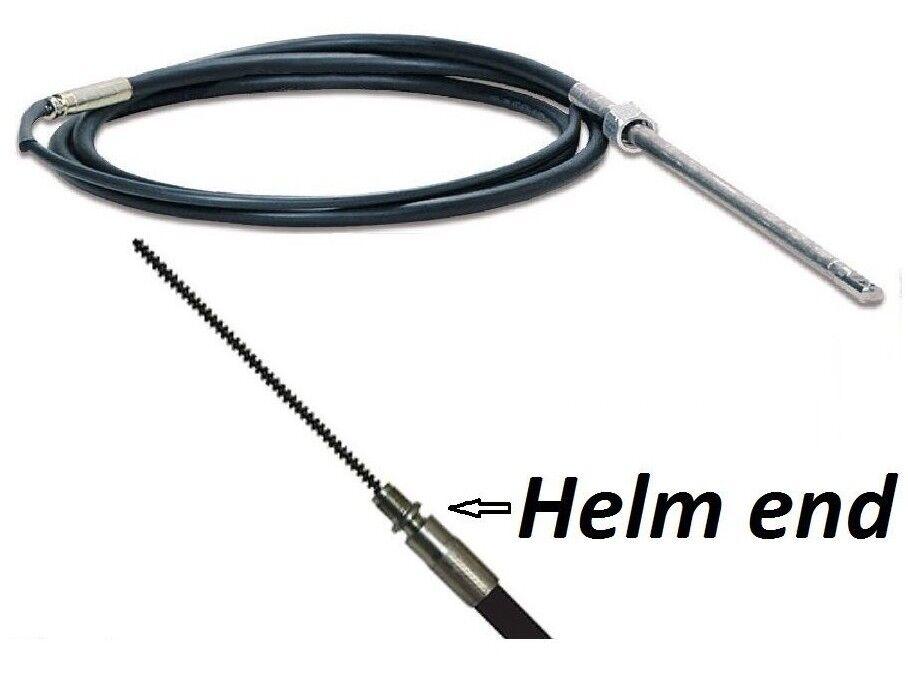 Boat Steering Cable 8ft thru 20ft Fit SH8050 Morse C230 231 Ultraflex T67 TX805