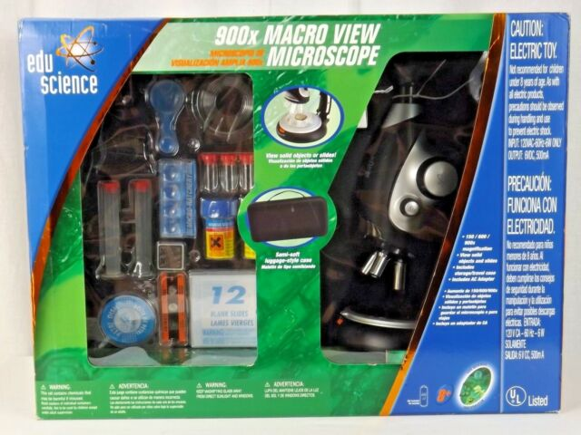 EDU Science Versmax 900x Microscope