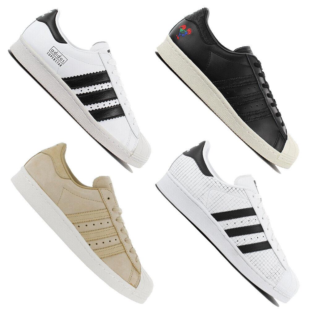ADIDAS ORIGINALS súperEstrella zapatilla de deporte caballero zapatos cuero zapatillas zapato deportivo nuevo