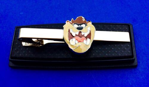 Tasmanian devil tie clip cartoon character tie clasp