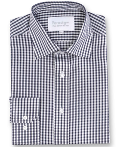 Paradigm® Pure Cotton Non-Iron Formal Shirt Charcoal - 18.5  SRP