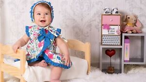 SEWING PATTERNS Paper Pattern Gingham ROMPER baby Newborn easy sewing babies DIY