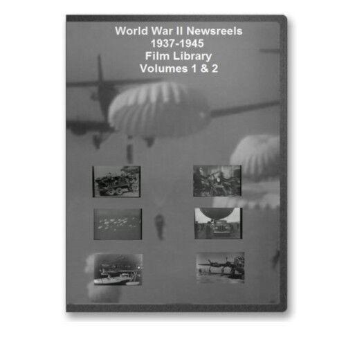 Seconda GUERRA MONDIALE 1937-1945 CINEGIORNALI 6+ ore SECONDA GUERRA MONDIALE 4 DVD SET-A73-76