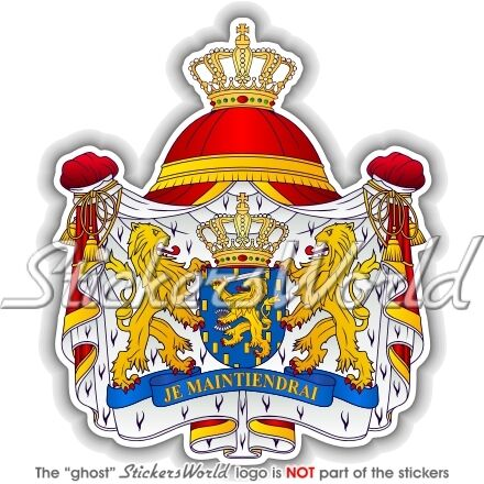 Holland DUTCH Bumper Sticker NETHERLANDS Coat of Arms
