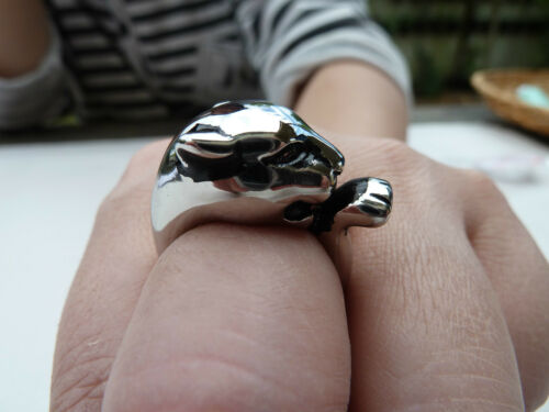 8 7 316L Stainless steel ring//Skull ring//Gothic ring//Biker ring #6 9 NWT4482