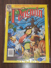 BATMAN PRESENTS PENGUIN DC BRITISH MONTHLY MAGAZINE 1990^