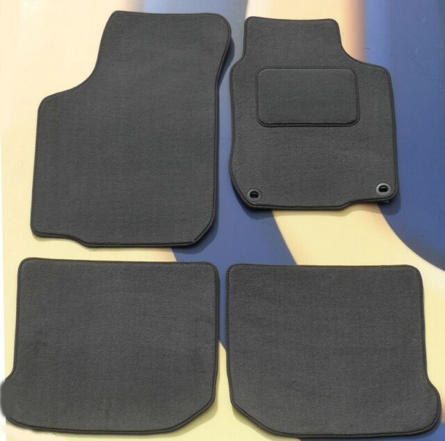 Toyota Iq 2009 On Black Black Tailored Floor Car Mats Carpet //Rubber