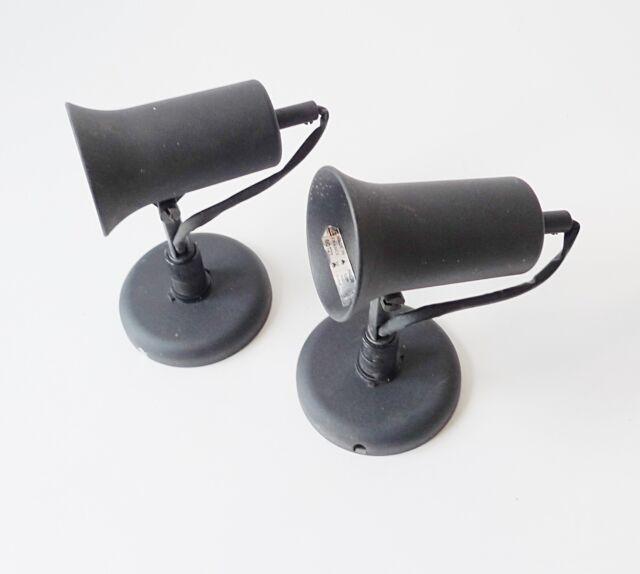 2 lampes LITA applique métal vintage années 60 70 design 1970 lamp spot