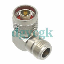 10pcs Conversion Adapter N male to N female RA 90° connector for Communication