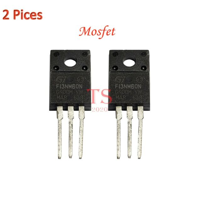 2 Pcs STF13NM60N TO-220 F13NM60N TO220 13NM60 new MOSFET transistor