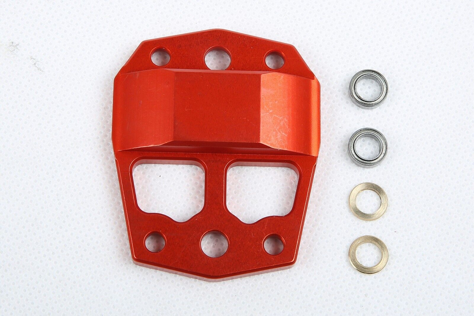 Metal center differential gear cover orange orange orange Red  for Losi 5ive T 41b0de