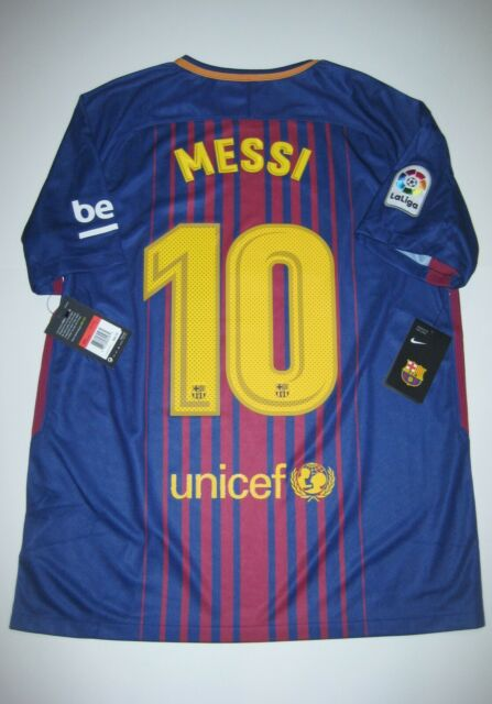 online retailer ce2f3 8b589 2017-2018 New FC Barcelona Lionel Messi Home Jersey Kit Argentina Jersey  Maglia
