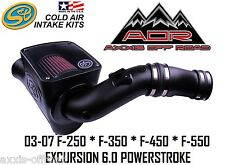S&B Cold Air Intake CAI 2004-2007 Ford Powerstroke 6.0L 6.0 75-5070 S and B