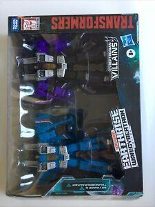 Transformers Thundercracker Skywarp Earthrise WFC-29 Seeker 2pack