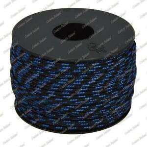 Cordino-sky-bracciali-collane-fai-da-te-nero-con-spia-azzurra-2-mm-50-mt