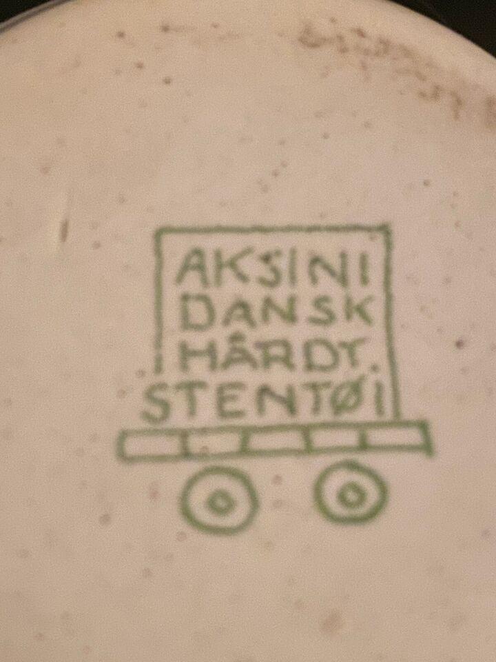 Keramik, Sennepskrukke, Aksini