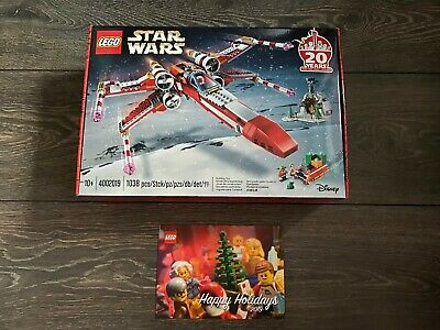 lego 4002019 star wars x wing employee gift good condition 2019 new sealed ebay