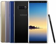 Samsung Galaxy Note 8 SM-N950F/DS (FACTORY UNLOCKED) Black Gold Gray Blue Pink