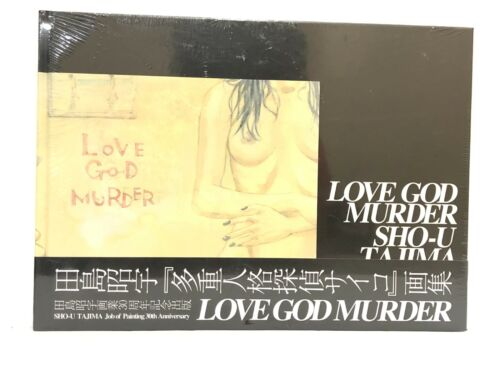 SHO-U Tajima Job of Painting 30th ANNIVERSARY Love God Murder NEW SALE