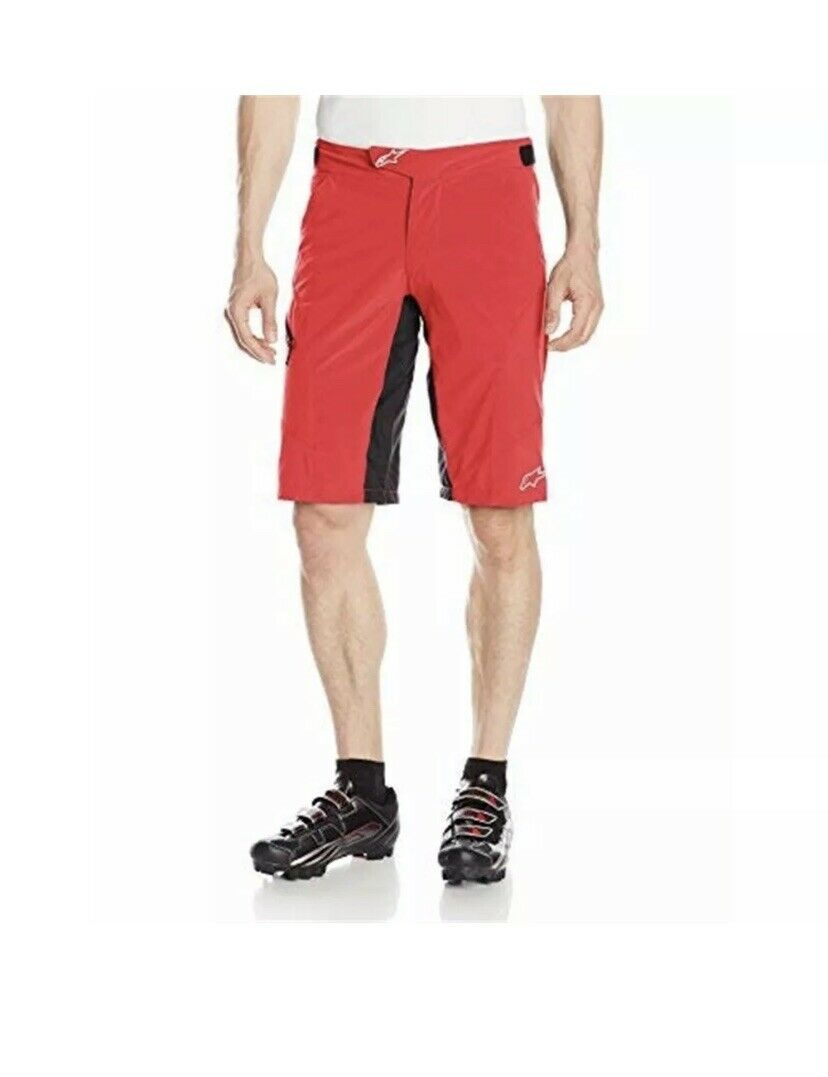 Alpineestrellas Hyperlight 2 Shorts 32 rosso bianca