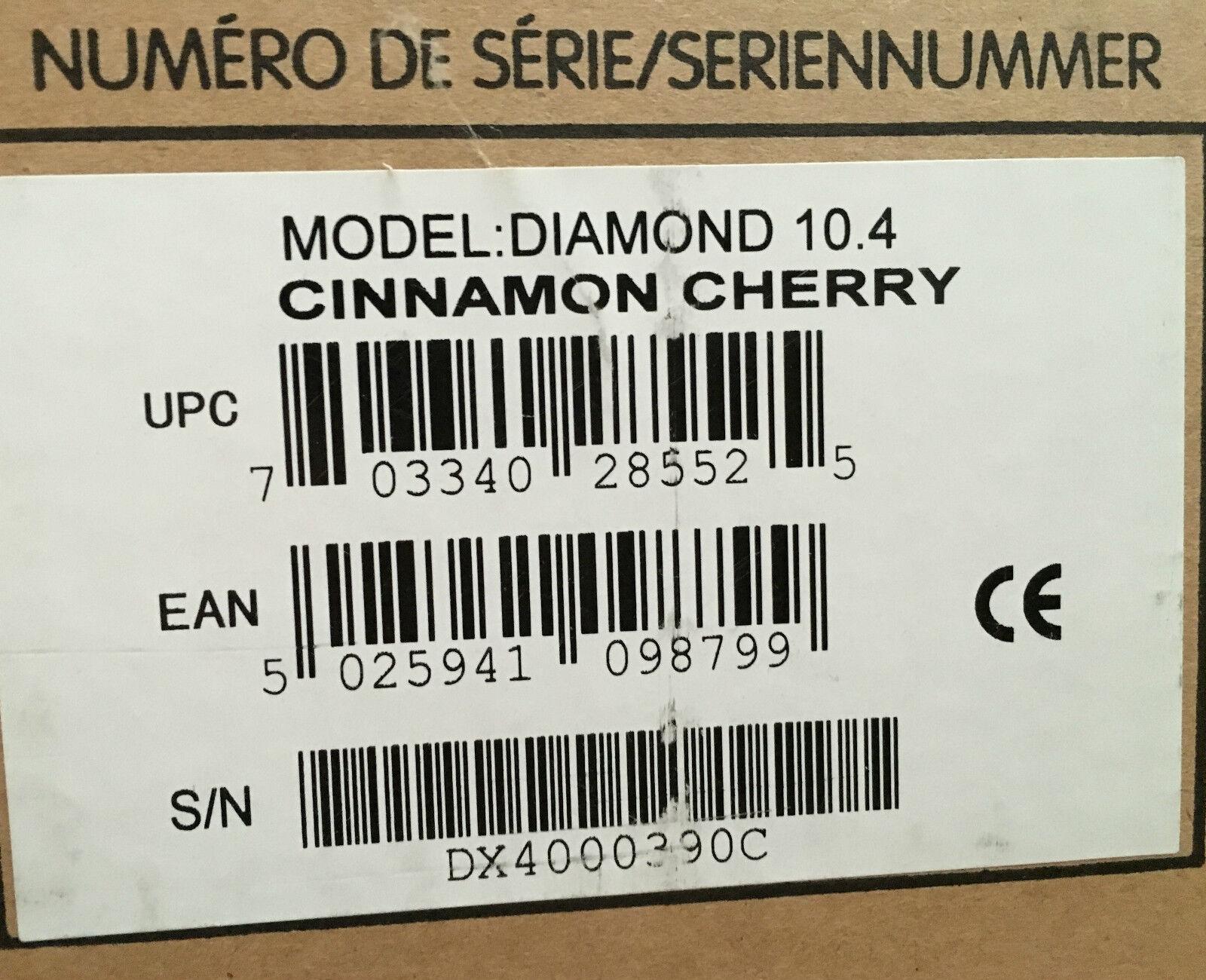 Wharfedale Diamond 10.4 Zimt-Kirsche Cinnamon Cherry sehr schön Paarpreis