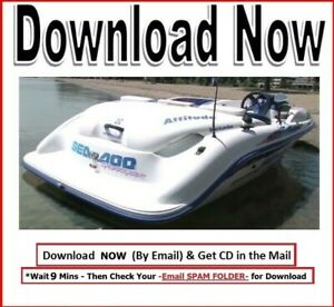 1995 Seadoo Speedster Sportster Service Repair Manual Bombardier Jet Boat Sea Do Ebay