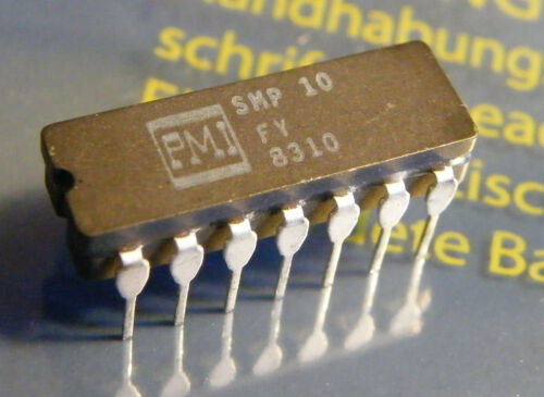 SMP10FY Sample-andHold Amplifier PMI
