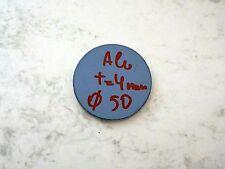 Ronde aus Aluminium AlMg3 Blech, 50 x 4 mm einseitig foliert Aluscheibe